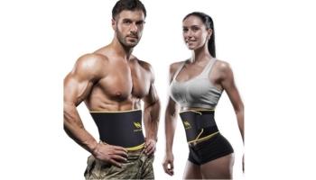 OMorc Adjustable Waist Trimmer Ab Belt for Men and Women