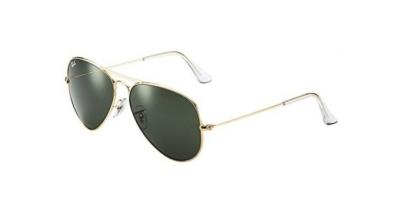 Ray-Ban RB3025 Unisex Aviator Sunglasses