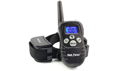 Petrainer Remote Dog Training Collar with Beep, Vibration and Shock