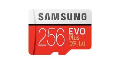 Samsung 256GB EVO Plus MicroSD Card with Adapter