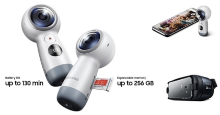 Samsung Gear 360 Spherical Degree 4K Camera