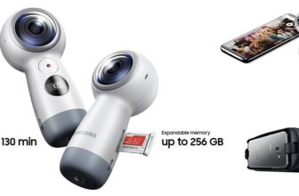 Samsung Gear 360 Spherical Degree 4K Camera