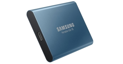 Samsung T5 Portable SSD with 500GB Storage Capacity