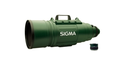 Sigma Ultra-Telephoto Zoom Lens for Nikon DSLR Cameras