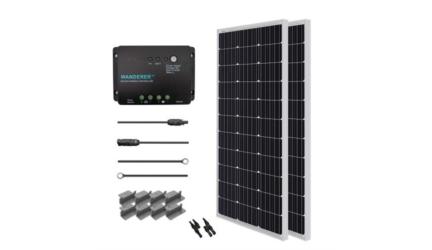 200 Watt 12 Volt Solar Starter Kit