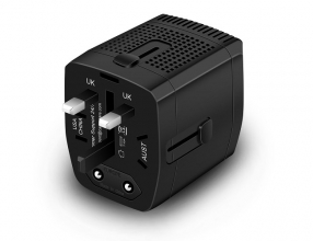 220V to 110V Step Down Voltage Converter and Travel Plug Adapter