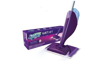 Swiffer Wetjet Spray Mop Floor Cleaner Starter Kit