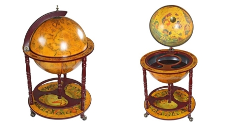 Design Toscano Sixteenth-Century Italian Replica Globe Bar