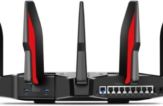 TP-Link AC5400 Tri Band Gaming Router with 16GB Storage