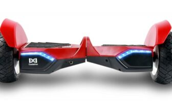 Two Wheel Self Balance Off-Road Hoverboard with Bluetooth Speakers