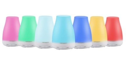 URPOWER Ultrasonic Aroma Essential Oil Diffuser