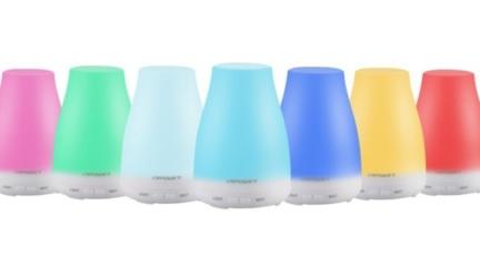URPOWER Ultrasonic Aroma Essential Oil Diffuser