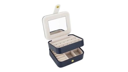 Zmart Portable Travel Jewelry Box Organizer