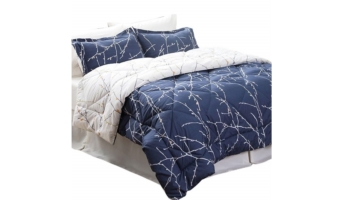 Bedsure 6 Piece Comforter Set Bed In A Bag