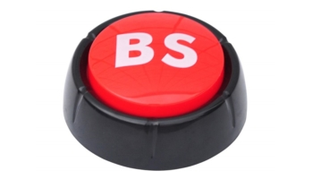 "This Button Will Say ""BS"" For You in 10 Different Voices"
