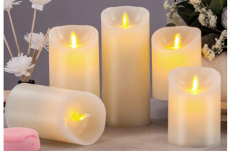 Incredibly Realistic Dancing Flame LED Candles
