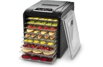 Premium Countertop Food Dehydrator with 9 Shelves