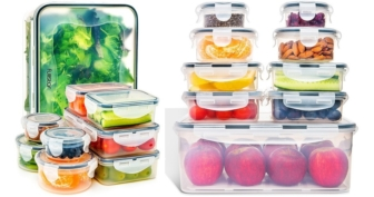 Fullstar Airtight Leak Proof Food Storage Containers