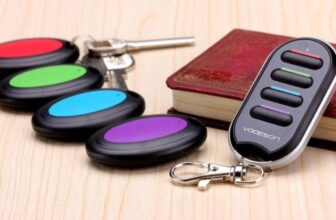 Wireless Key Finder With Portable Transmitter and 4 Receivers