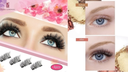 Reusable Full-Size Glue-free Dual Magnetic Eyelashes
