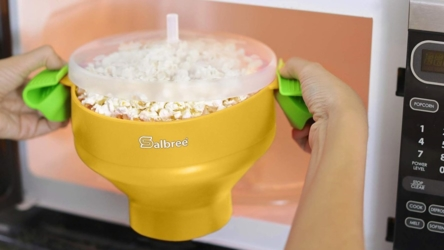 Microwave Popcorn Making Bowl