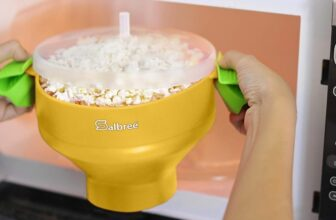 Microwave Popcorn Making Bowl