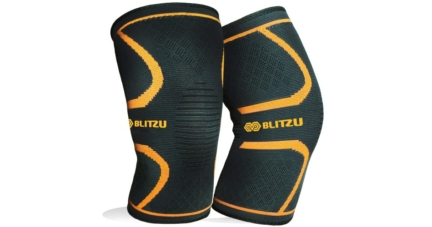 Blitzu Flex Plus Compression Knee Sleeves for Joint Pain