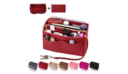 Felt Purse and Bag Organizer with Zipper