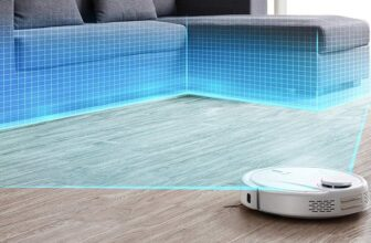 Robot Vacuum Cleaner with Smart Mapping