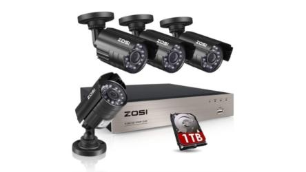 Indoor Outdoor Weatherproof HD Security Camera System