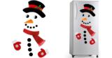 Funny Snowman Fridge Christmas Magnets