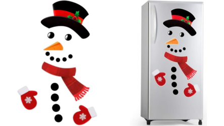 Funny Snowman Fridge Christmas Magnets