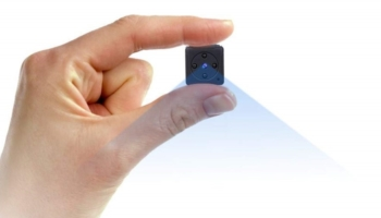 Mini WiFi Hidden Spy Camera with Motion Detection and Night Vision