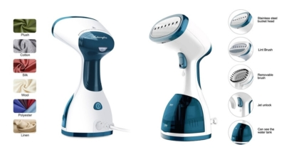 Anbanglin Handheld Travel Clothes Steamer