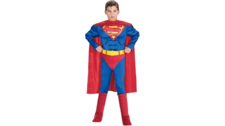 Deluxe Muscle Chest Superman Costume for Boys