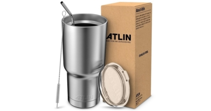 Atlin Double Wall Stainless Steel Travel Mug