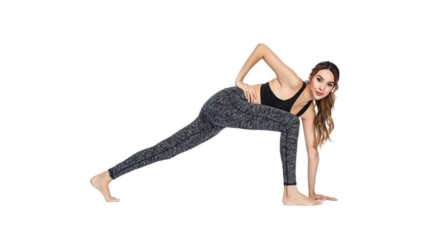 Yoga Power Stretch Workout Leggings with High Waist