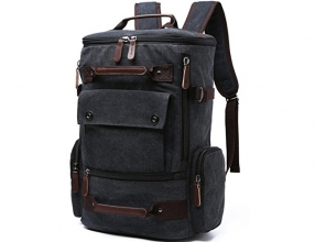 Yousu Canvas Backpack Fashion Travel Backpack